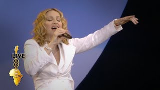 Video Madonna - Like A Prayer (Live 8 2005) MP3, 3GP, MP4, WEBM, AVI, FLV Februari 2019