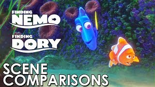 Nonton Finding Nemo  2003  And Finding Dory  2016    Scene Comparisons Film Subtitle Indonesia Streaming Movie Download