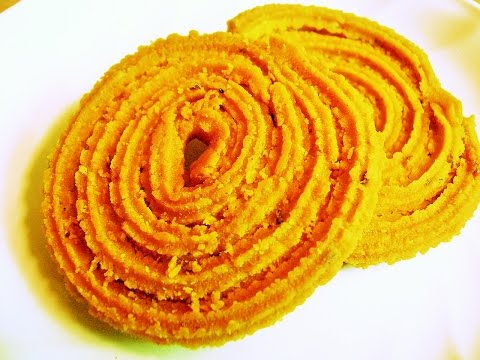 Chakali / Murukku - Diwali Delicacy