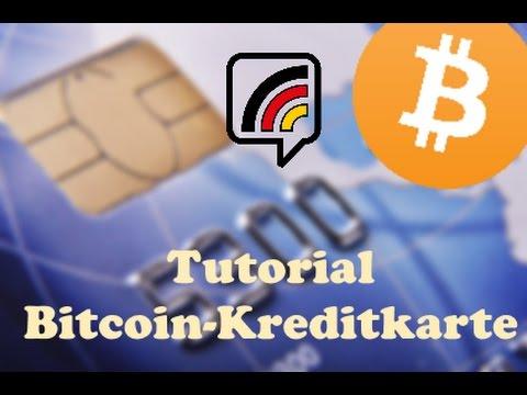 Tutorial: BITCOIN-Kreditkarte mit - CryptoPay - SCHNELL ...