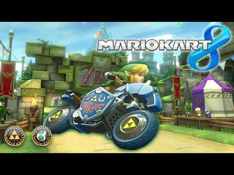 Mario Kart 8 - La Course D'Haïroule ! (Coupe Oeuf / Triforce)
