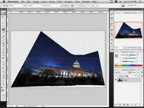 Photoshop Tutorial: Panoramic