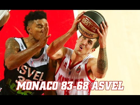 Pro A — Monaco 83 - 68 ASVEL — Highlights