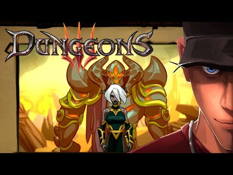 Dungeons 3 Mission 1 THE SHADOW OF ABSOLUTE EVIL | Let's play Dungeons 3 Gameplay (видео)