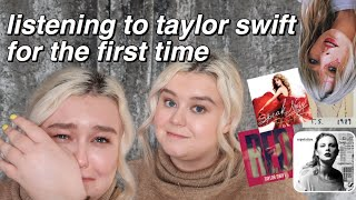 Video LISTENING TO TAYLOR SWIFT FOR THE FIRST TIME (I CRIED) download in MP3, 3GP, MP4, WEBM, AVI, FLV January 2017