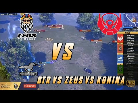Zues vs Btr vs Konina Power | Btr op Come Back🔥 | PMGC Finals Day 2 | PMGC Finals 2020