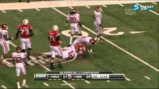 Travis Lewis vs Nebraska Big 12 Championship 2010
