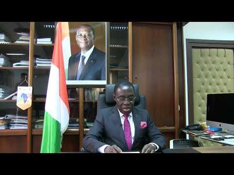 COTE D'IVOIRE : Message du Gouvernement du Ministre la Santé et de l'Hygiene Publique