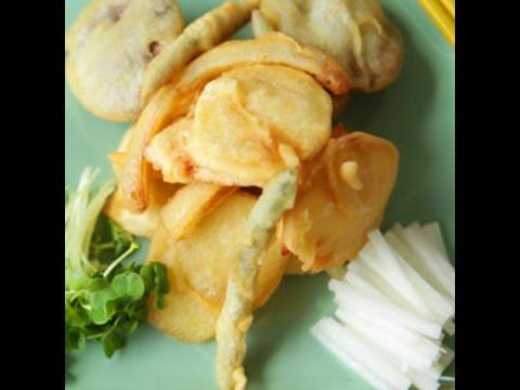 La tempura di verdure
