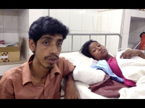 Bangladeshi man cuts off trapped girl's hand