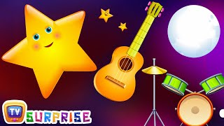 Twinkle Twinkle Little Star - Learn Colours and Objects with ChuChu TV Surprise Eggs Nursery Rhymes. Make your kids enjoy the surprise and learn Colours, obj...