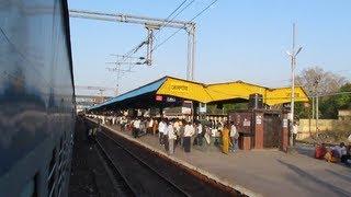 Jalgaon India  city photos : AJNI WAP-7 LTT GKP 12542 LHB Skip Jalgaon [ Indian Railways ]