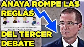 Video Anaya Rompe las Reglas del Tercer Debate MP3, 3GP, MP4, WEBM, AVI, FLV Juni 2018