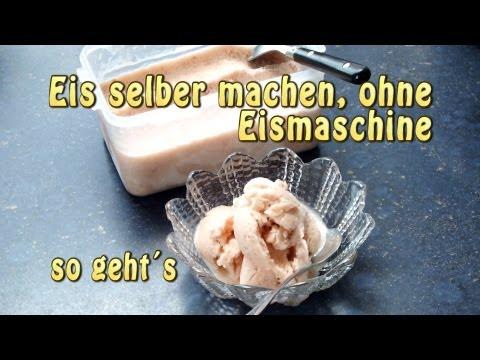 Eis selber machen ohne Eismaschine – so geht es