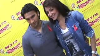 Ranveer And Anushka Promoting 'Ladies Vs Ricky Bahl'