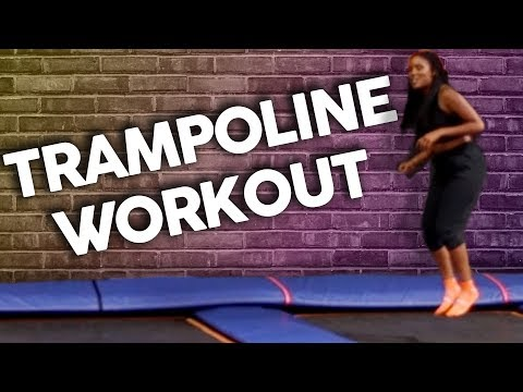 Working Out on a Giant Trampoline?! (Get Jacked)