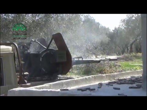 اللاذقية: استهداف نقاط مليشيات الأسد في تلة حدادة بجبل الأكراد بالرشاشات الثقيلة رداً على الخروقات