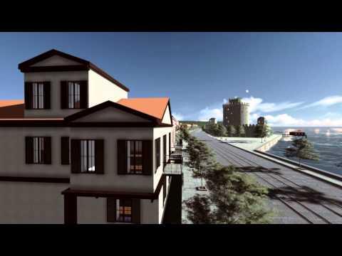 πυργος - 3D Αναπαράσταση Λευκού Πύργου, Θεσσαλονίκη, αρχές 20ου αιώνα 3D Animation -Vladimiros Nefidis Video Editing -Damianos Maximov Music- Ευανθία Ρεμπούτσικα,