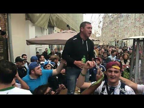 A este ruso no le gusto la hinchada Argentina!