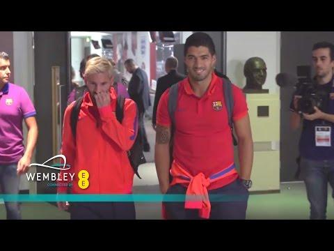 مشاهد من خلف الكواليس لمباراة ليفربول وبرشلونة ضمن كأس الأبطال الودية (فيديو)
