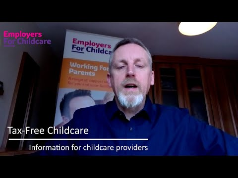 Tax-Free Childcare – useful information for childcare providers