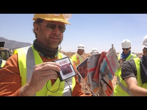 Atari ET cartridges from 1982 unearthed in