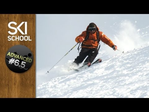 SKI - Ski School instructor Darren Turner ( http://www.SkiSchoolApp.com ) looks at body position and tactics in this ski lesson that will help you learn how to ski...