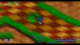Sonic 3D Blast Playthrough - Part 1