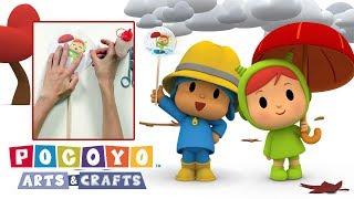 Pocoyo português Brasil - Pocoyo Arts & Crafts: Taumatrópio da Nina