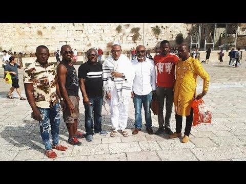 BreakingNews Full clip Igbo Political Elites worried as IPOB Learder NnamdiKanu reappears in Israel