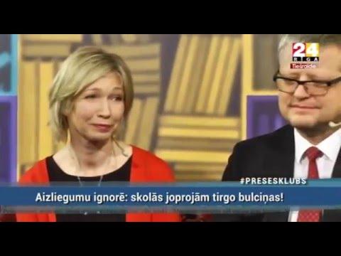 """Veselības ministrs Dr. Guntis Belēvičs Rīga TV24: raidījumā """"Preses klubs"""", raidījuma 2.daļa"""