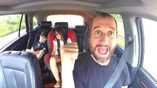 Yo solo en carretera con niños. Vlog 3.