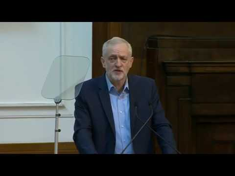 Jeremy Corbyn Speech at the Fabian Society 14/1/17