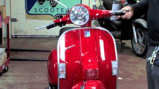 4. 2015 Vespa PX150 Two Stroke Scooter