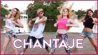 CHANTAJE  Shakira ft Maluma  Coreografia con Lyna  A bailar con Maga