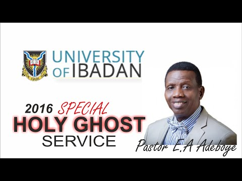 Pastor E.A Adeboye Sermon @ University Of Ibadan RCCG Holy Ghost Service