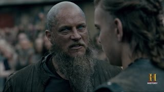 Ragnar's Speech ''Who wants to be King ?'' Season 4