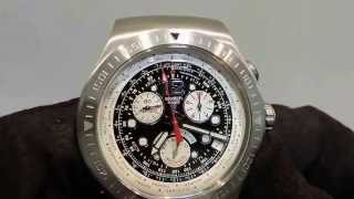 1. How to reset the chronograph hands on a Swatch chrono