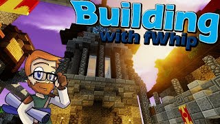 Building with fWhip :: Castle Grand Entrance Courtyard :: #61 Minecraft 1.12 Single Player Survival