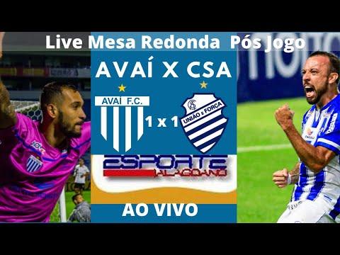 Live Mesa Redonda Pós Avai x CSA
