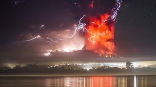 Извержения вулкана в Чили, вулкан Кальбуко начал извержение в Чили