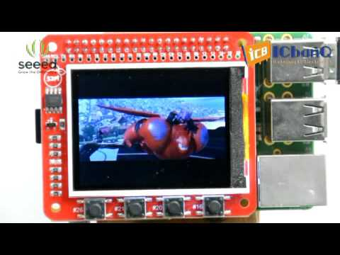 라즈베리파이 TFT LCD 모듈 Raspberry Pi 2 2'TFT Display Module WOT Touch