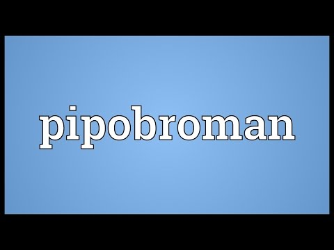 Pipobroman Meaning