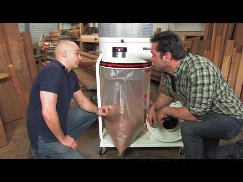 Jet Vortex Dust Collector: Quick Install Collection Bag