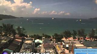 Patong Tower, Phuket - Daily Time Lapse, Tuesday December 17