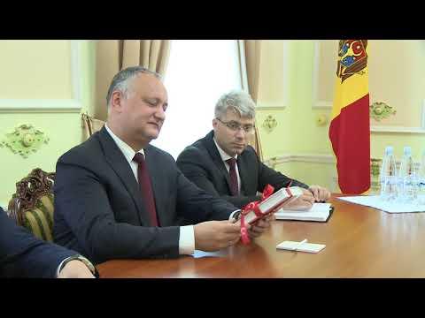 Președintele Republicii Moldova, Igor Dodon, a avut o întrevedere cu Iskender Kemal Okyay, însărcinat cu afaceri al Ambasadei Republicii Turcia în Republica Moldova