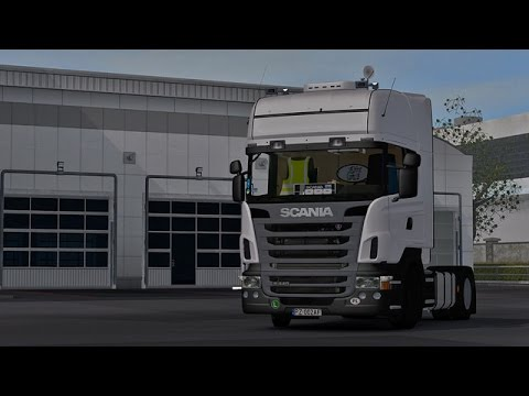 Scania R440 white by Rafal and Hypia02