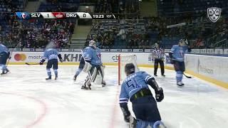 Братислава и Рига обменялись голами к 36-й секунде