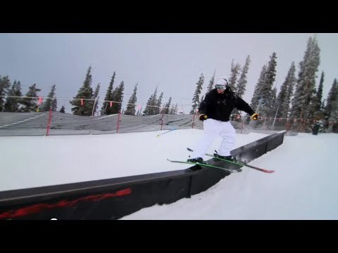 skiing - The skiing preseason has just begun for Bobby Brown in his hometown of Denver Colorado as him and his friends take full advantage of Breckenridge snow jumps ...