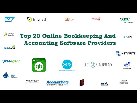 Top 20 Online Bookkeeping and Accounting Software Providers
